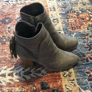 Vici Dolls Suede Ankle Boots